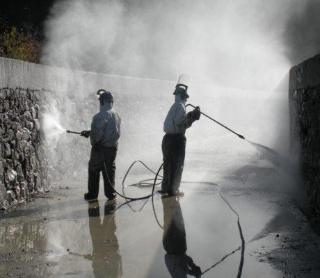 Canali adduzione acque in centrali idroelettriche