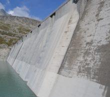 Idrodemolizione su Diga del Lago Pantano d'Avio
