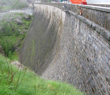 Idroscarifica Diga Lago Campliccioli